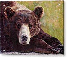 Da Bear Acrylic Print