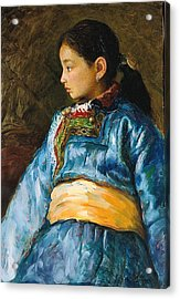 Da Guo La Acrylic Print by Ji-qun Chen