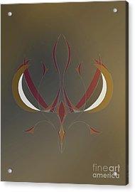 Da Vinci Spider Acrylic Print