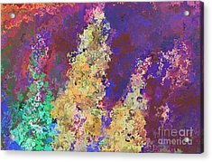 Dabble Flowers Acrylic Print