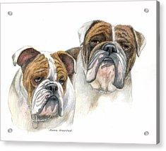daBullies Acrylic Print