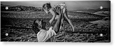 Acrylic Print featuring the photograph Daddy's Girl by Ryan Smith
