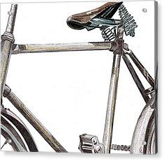 Dad's Bike Acrylic Print by Glenda Zuckerman