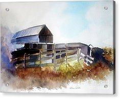 Dad's Farm House Acrylic Print