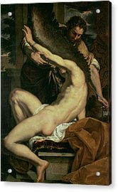 Daedalus And Icarus Acrylic Print