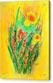 Daffodiles  Acrylic Print