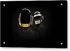 Daft Punk - 694 Acrylic Print by Jovemini ART