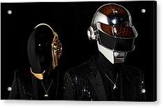 Daft Punk - 75 Acrylic Print by Jovemini ART