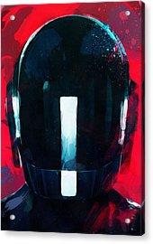 Daft Punk II Acrylic Print by Mortimer Twang