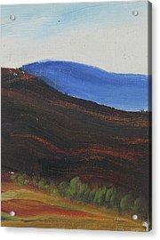 Dagrar Over Salenfjallen- Shifting Daylight Over Distant Horizon 2 Of 10_0035 50x40 Cm Acrylic Print