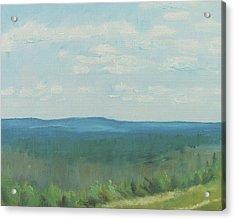 Dagrar Over Salenfjallen- Shifting Daylight Over Distant Horizon 3 Of 10_0029 50x40 Cm Acrylic Print