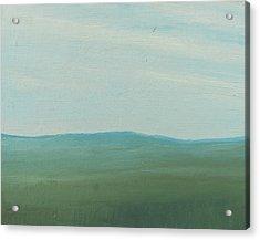 Dagrar Over Salenfjallen- Shifting Daylight Over Distant Horizon 4 Of 10_0029 51x40 Cm Acrylic Print