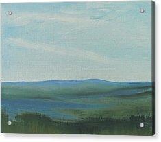Dagrar Over Salenfjallen- Shifting Daylight Over Distant Horizon 6a Of 10_0027 50x40 Cm Acrylic Print