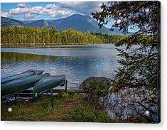 Daicey Pond Campground Acrylic Print