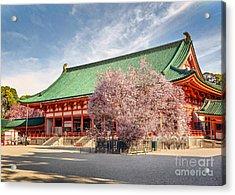 Daigukuden Main Hall Of Heian Jingu Shrine Acrylic Print