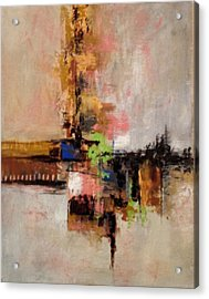 Acrylic Print featuring the painting Daily #5 by Suzzanna Frank