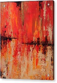 Acrylic Print featuring the painting Daily  by Suzzanna Frank