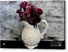 Acrylic Print featuring the photograph Dainty Flowers by Marsha Heiken
