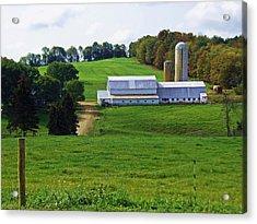 Dairy Country Acrylic Print