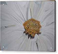 Acrylic Print featuring the painting Daisy by Betty-Anne McDonald