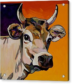 Acrylic Print featuring the painting Daisy by Bob Coonts