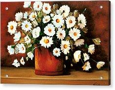 Daisy Doodle  Sold Acrylic Print