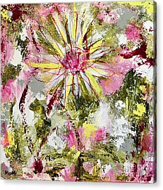 Daisies On Parade No. 1 Acrylic Print