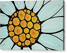 Daisy Acrylic Print by Sharon Cummings