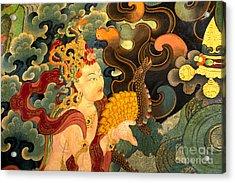 Dakini With Nagas - Sera Monastery Tibet Acrylic Print