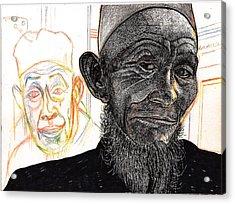 Dalai Happily Happened Upon Acrylic Print