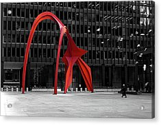 Daley Plaza Acrylic Print