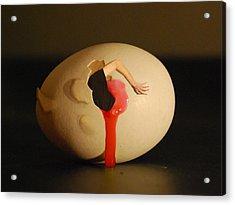 Dali Egg Acrylic Print by Erik Krieg