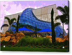 Dali Museum Acrylic Print by David Lee Thompson