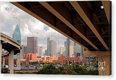 Dallas Backside Acrylic Print by Robert Frederick