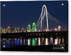 Dallas Bridge View Acrylic Print