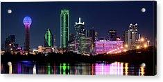 Dallas Colors Pano 2015 Acrylic Print