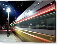Dallas Dart Train 012518 Acrylic Print