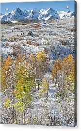 Dallas Divide In October Acrylic Print