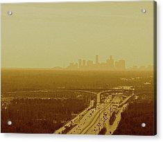 Dallas Sky Acrylic Print by Katie Ransbottom