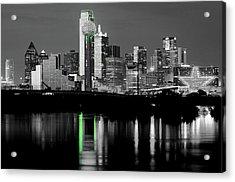Dallas Skyline Gr91217 Acrylic Print