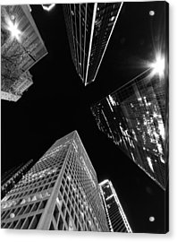 Dallas Up Acrylic Print by John Gusky