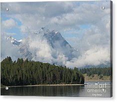 Dam Clouds Acrylic Print by Greg Patzer
