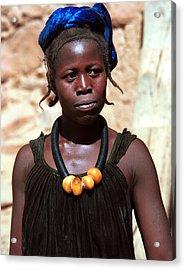 Damasongo 1987 Acrylic Print by Huib Blom
