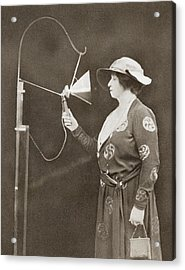 Dame Nellie Melba, 1861 Acrylic Print by Vintage Design Pics