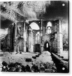 Dammarie Les Lys Abbey Acrylic Print by Simon Marsden