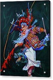 Dan Chinese Opera Acrylic Print