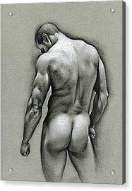 Dan Acrylic Print by Chris  Lopez