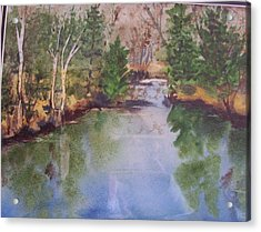 Dan S Pond Acrylic Print