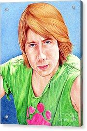 Dan Acrylic Print by Sheryl Unwin