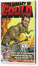 Dana Gould At The Throckmorton Theatre Acrylic Print